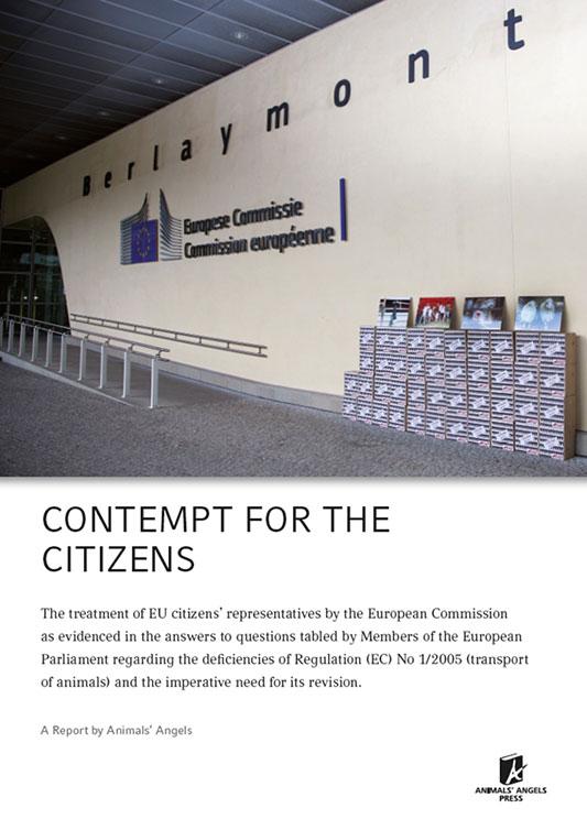 Dokumenation: Contempt for the Citizen