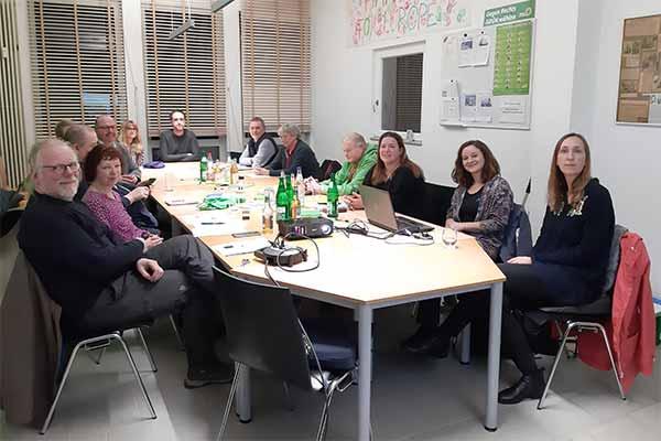 Animals' Angels bei einem Vortrag vor der LAG Tierschutzpolitik der Grünen in Friedberg