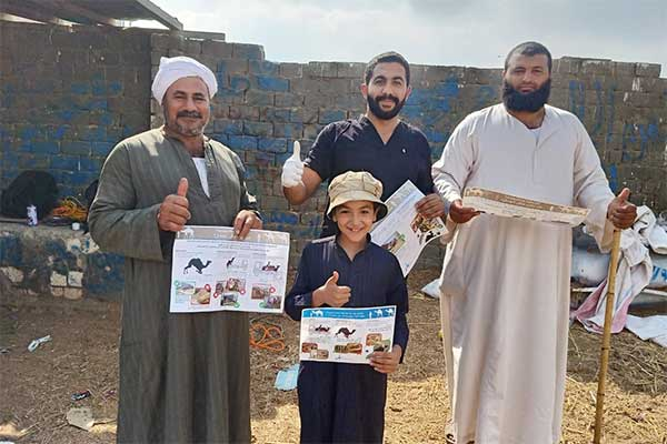 Animals' Angels Doing Eductional Work at Birqash Camel Market