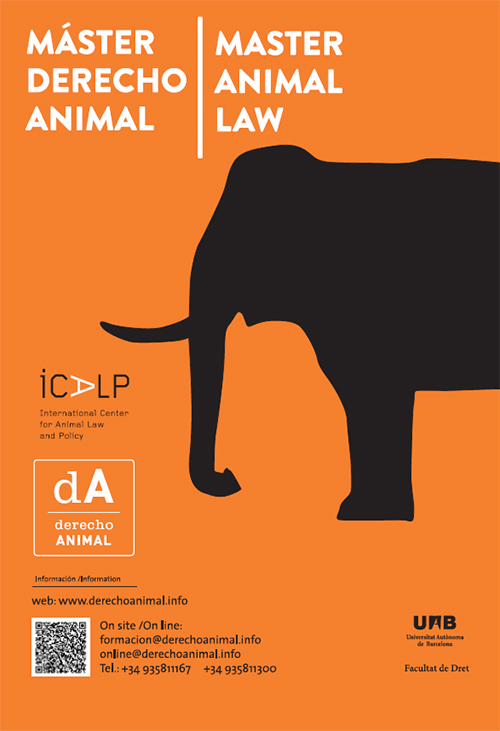 Masterstudiengang Animal Law and Society, Barcelona