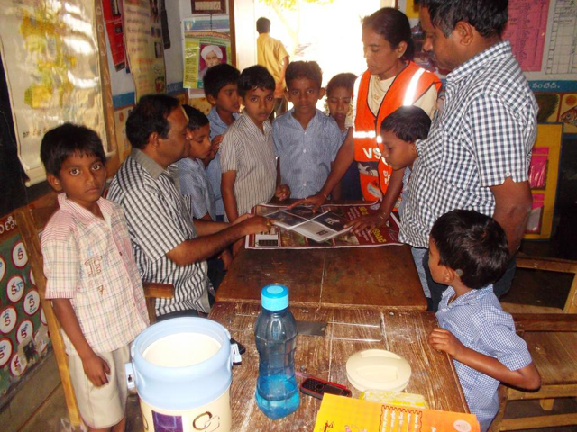 CRPI India, School Visit in Denkada