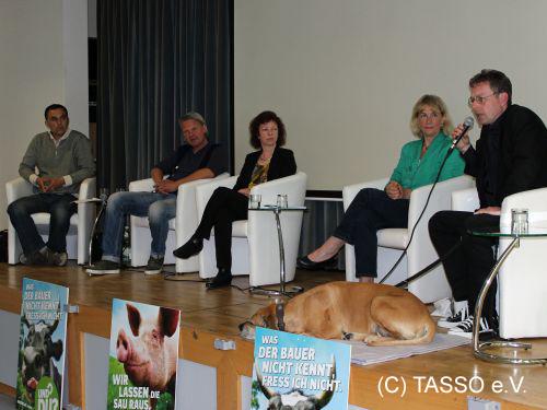 """Podiumsdiskussion in Friedberg/Hessen: """"Tierschutz und die EU"""""""