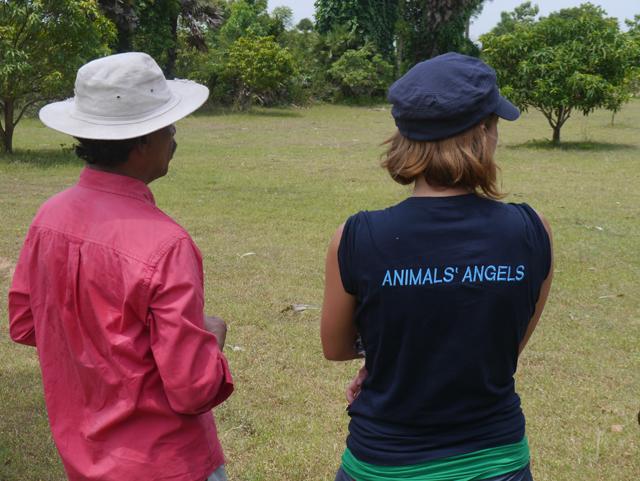 CRPI Indien, Planung eines Tierasyls