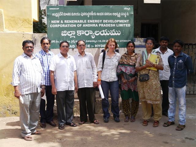 CRPI Indien, Meeting mit Ministerium für erneuerbare Energien