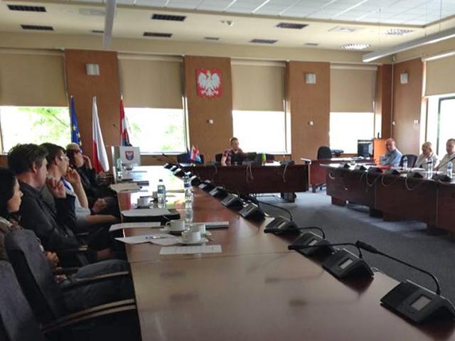 Schulungsvortrag Stadtrat Legionowo