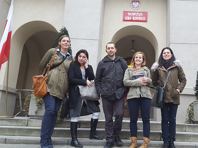 Meeting mit obersten Rechnungshof in Polen