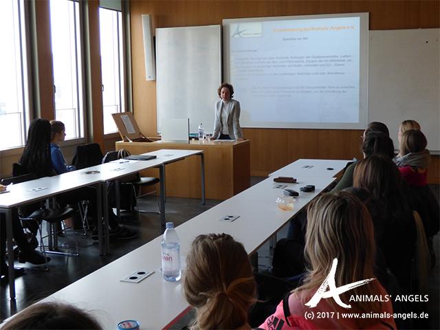 Vortrag Animals' Angels, Universität Frankfurt am Main