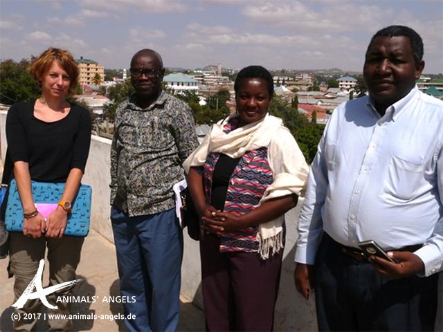 Animals' Angels Termin im Bundeslandwirtschaftsministerium in Dodoma, Tansania