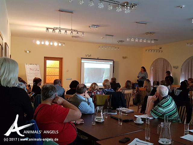 Animals' Angels Schulung für Veterinärinspektoren in Lettland
