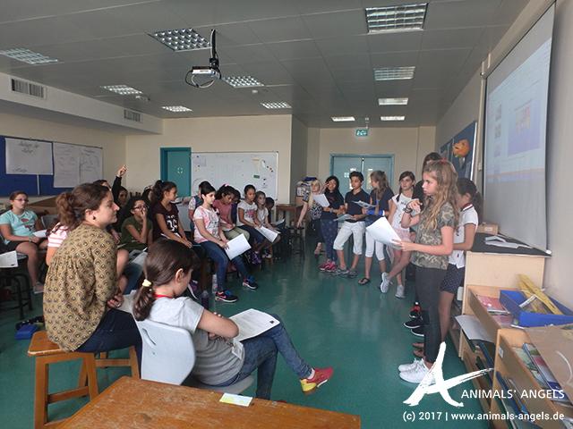 Animals' Angels-Tierschutzprojekt an der Deutschen Internationalen Schule in Doha